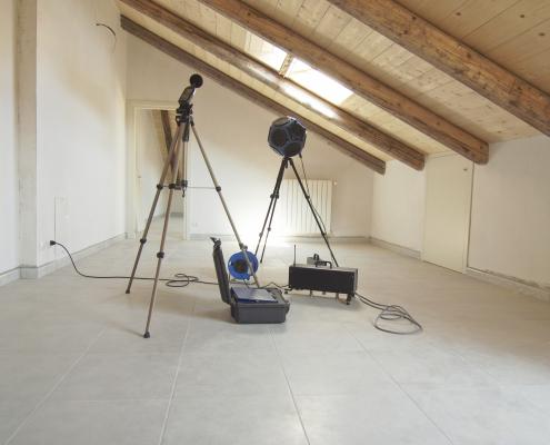 acoustic noise building testing