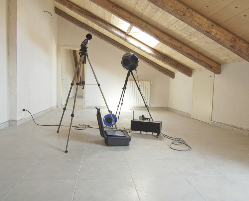 acoustic noise building testing
