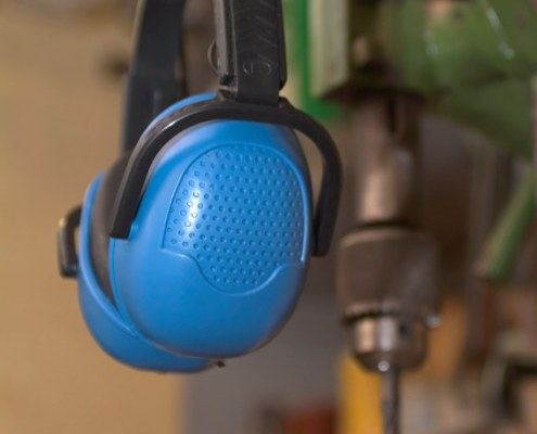 Drill and Ear protectors